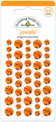 Tangerine Jewel Stickers - Doodlebug