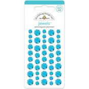 Swimming Pool Jewel Stickers - Doodlebug