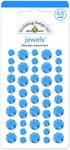 Blue Jean Jewel Stickers - Doodlebug