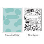 Postage And Frame Set - Sizzix