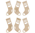 Mini Stockings Wooden Flourishes - KaiserCraft