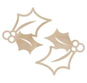 Holly Wooden Flourishes - KaiserCraft