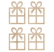 Mini Presents Wooden Flourishes - KaiserCraft