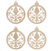 Mini Ornaments Wooden Flourishes - KaiserCraft