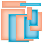 A2 Matting Basics B Die Templates - Nestabilities - Spellbinders