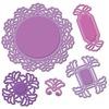 Vintage Lace Motifs Die Templates - Shapeabilities - Spellbinders