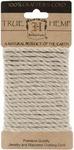 Natural 4mm Hemp Rope Card - Hemptique