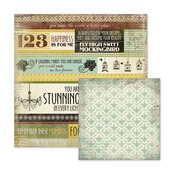 Lucille Paper - Antique Chic - We R Memory Keepers
