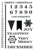 Christmas Cheer Clear Stamps - Lily Bee