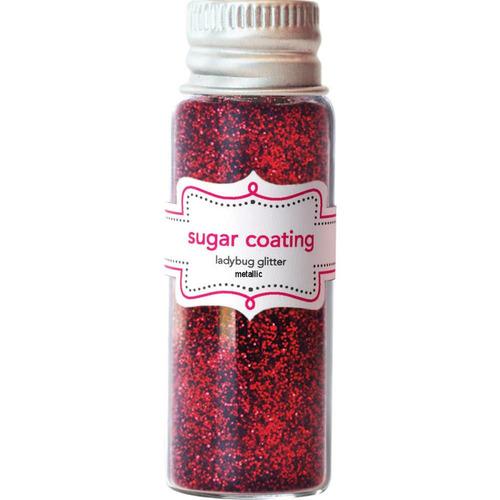Ladybug Metallic Sugar Coating Glitter - Doodlebug