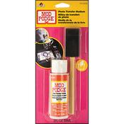 Mod Podge Photo Transfer Medium W/Foam Brush - Plaid
