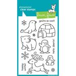 Critters In The Snow Clear Stamps - Lawn Fawn