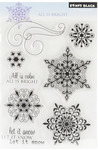 All Is Bright Penny Black Clear Stamps