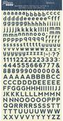 Diced Denim Alphabean Stickers - Jillibean Soup