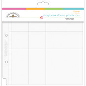 "Protector Assortment For Doodlebug 8""x8"" Storybook Albums"