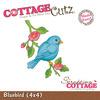Bluebird Metal Die - Cottage Cutz