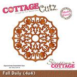 Fall Doily 4x4 Metal Die - Cottage Cutz