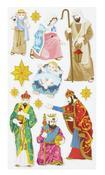 Nativity Foil Stickers
