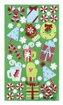 Christmas Medley Foil Stickers