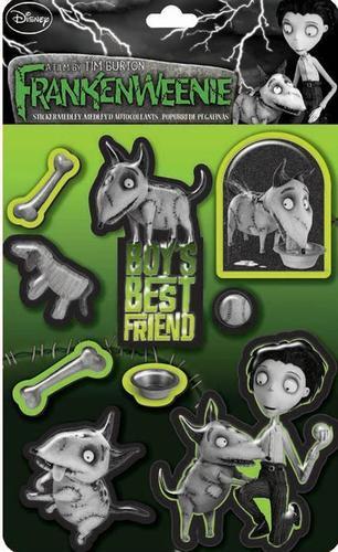 Frankenweenie Boys Best Friend Sticker Medley