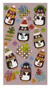 Polkadot Penguin Stickers