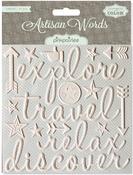 Travel Words - Artisan - Pink Paislee