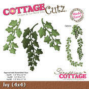 Ivy 4 x 4 Metal Die - Cottage Cutz