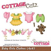 Baby Girls Clothes Metal Die - Cottage Cutz