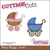 Baby Buggy Metal Die - Cottage Cutz