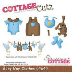 Baby Boy Clothes Metal Die - Cottage Cutz