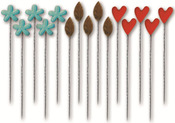 Acorn Hollow Stick Pins