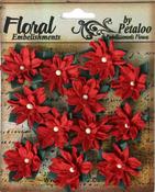 Mini Red Poinsettias - Petaloo