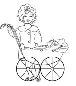 Mums The Word Cling Stamp - Melissa Frances