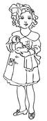 Precious Bundle Cling Stamp - Melissa Frances