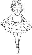 Tu-Tu Cute Cling Stamp - Melissa Frances