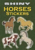 Shiny Horse Stickers Book - Dover
