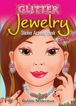 Jewelry Glitter Sticker Activity Book - Dover