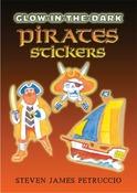 Pirates Glow-In-The-Dark Sticker Book - Dover