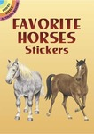 Favorite Horses Sticker Book -Dover