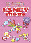 Candy Glitter Sticker Book - Dover