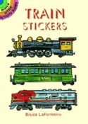 Train Sticker Book - Dover