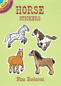 Horse Sticker Book - Dover