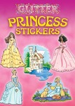 Princess Glitter Sticker Book - Dover