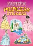 Princess Glitter Sticker Book - Dover