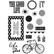 The Good Life Clear Stamps - Fancy Pants