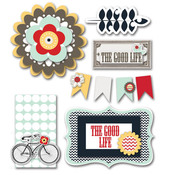 The Good Life Layered Stickers - Fancy Pants
