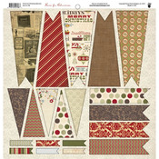 Home For Christmas Die-cut Banners - Fancy Pants