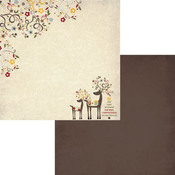 Reindeer Paper - Home For Christmas - Fancy Pants