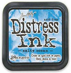 Salty Ocean Distress Ink Pad - Tim Holtz