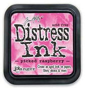 Picked Raspberry Distress Ink Pad - Tim Holtz